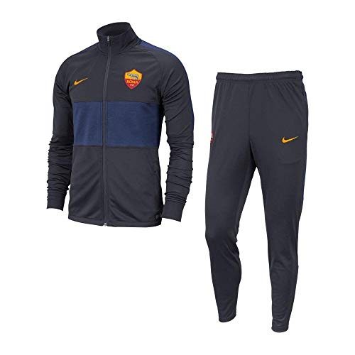 Nike Roma M Nk Dry Strk TRK Suit K Warm Up Herren L Mehrfarbig (Dark Obsidian/University Gold)