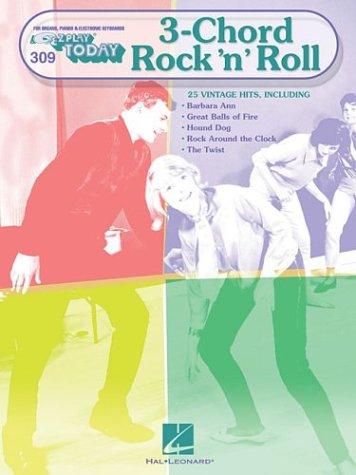 Three Chord Rock 'n' Roll: E-Z Play Today Volume 309