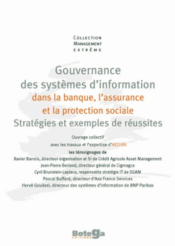 La gouvernance des systèmes d'information dans la banque, l'assurance et la protection sociale