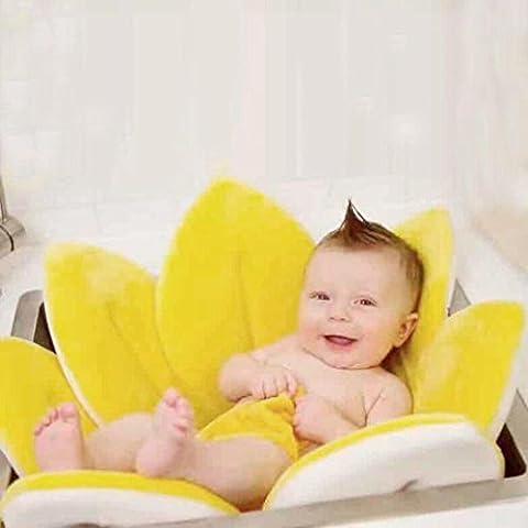 Soft Blooming Bath Flower Bath Tub for Baby, Kolylong Sink Bath Lotus For 0-6 months Infant Baby