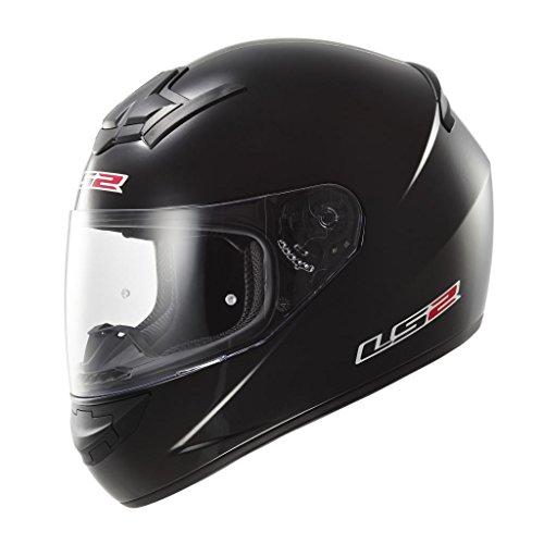 LS2 - Casco Moto, Nero Opaco, XL