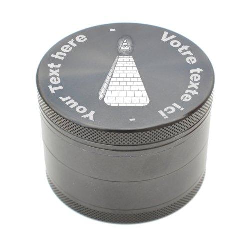 Customized Grinder in metal - ILLUMINATI - couleur : BLACK