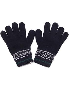 4847T guanti bimbo BIKKEMBERGS lana blue gloves boy kid