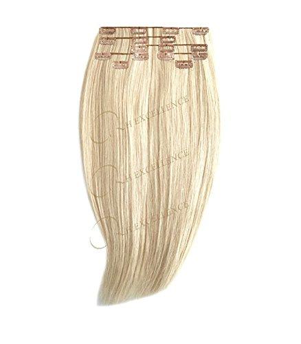Extension a Clip Blond platine - 50/55 cm