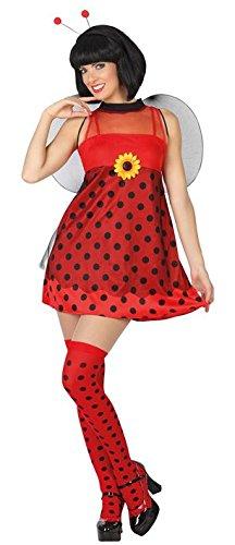 Atosa-26729 Disfraz Abeja, Color rojo, XL (26729