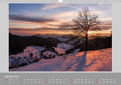 Suisse - Paysage de montagnes 2020 2020: Un voyage a travers toutes les saisons en Suisse (Calvendo Nature)