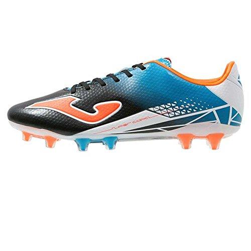 Joma, Scarpe da calcio uomo (Negro-Naranja)