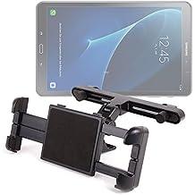 DURAGADGET Soporte Con Superficie Plana Para Tablet Samsung Galaxy TAB A 2016 SM-T580/T585 - Para El Reposacabezas De Su Coche