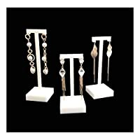 Premium Grade White Acrylic Display Stands For Jewellery Trade Show Exhibition Photograph Store