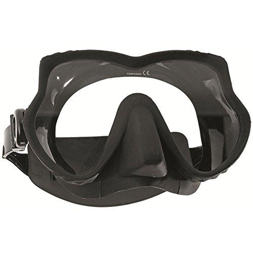 Subgear Tauchmaske Devil (schwarz) (Erwachsene Nacht-vision-brille Für)