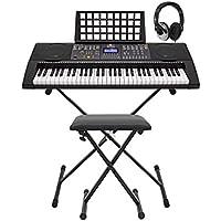 MK-6000 Tastiera con USB MIDI da Gear4music - Pacchetto Completo