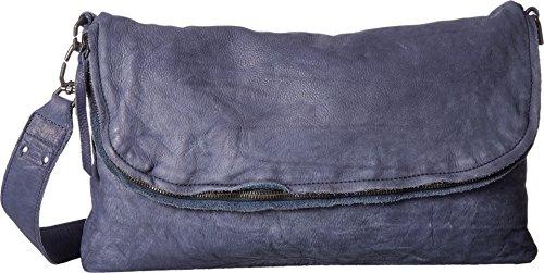 Liebeskind Ota Sac bandoulière cuir 37 cm indigo blue