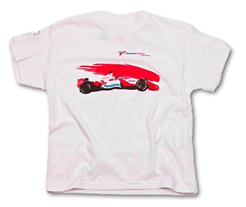 toyota-panasonic-racing-t-shirt-pour-enfant-blanc-blanc-moyen