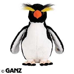 Webkinz Rockhopper Penguin Plush Toy with Sealed Adoption Code