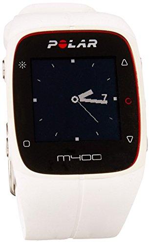 Polar M400 HR GPS-Laufuhr – Farbe weiß – Jogger Uhr 2017 - 2