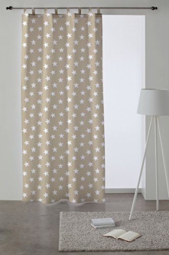 Martina Home Cortina con Trabillas modelo Polar 140 x 260 cm - color B