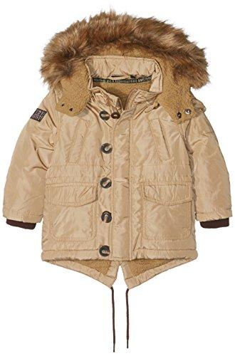 Mexx Mini Boys Coat, Cappotto Bambino, Beige (Kelp 347), 5 anni