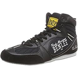 BenLee Rocky Marciano The Rock - Botas de boxeo para hombre negro black/concrete grey Talla:40