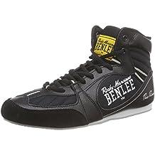 BenLee Rocky Marciano The Rock - Botas de boxeo para hombre negro black/concrete grey