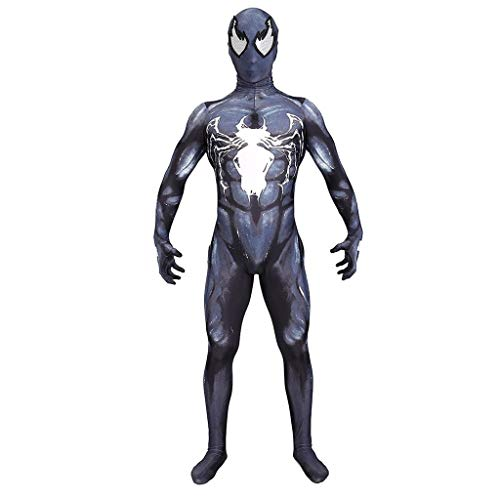 YEGEYA Spiderman Rollenspiel Kinder Halloween Kostüm Stretch Strumpfhose Filmzubehör (Color : Black, Size : - Cosplay Kostüm Astrid