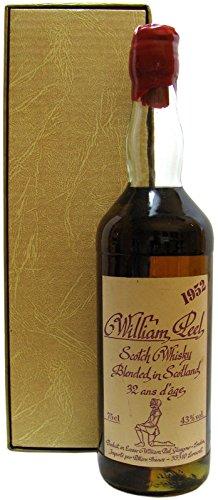 Rarität: William Peel Blended Scotch Whisky 0,7l Jahrgang 1952 incl. Geschenkbox (siehe zusätzliche Artikelbeschreibung) - Peel William