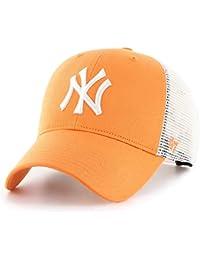 Amazon.it  Cappellino New York - Arancione   Cappellini da baseball ... 0c119bcaa538