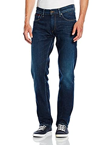 Hilfiger Denim Men's Ryan Original Straight Jeans, Blue (Dark Comfort), W33/L30
