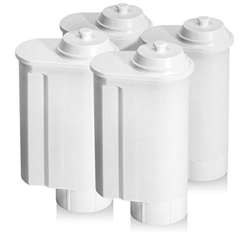 4 Wasserfilter für Ihren Kaffeevollautomat von Siemens, Bosch, Gaggenau, Neff, VeroBar,...