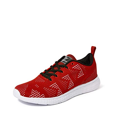 1cc9b5203ac Amazon Offers - Fusefit Men s Fusion Red Running Shoes-9 UK India (43 EU )(FFR-121)