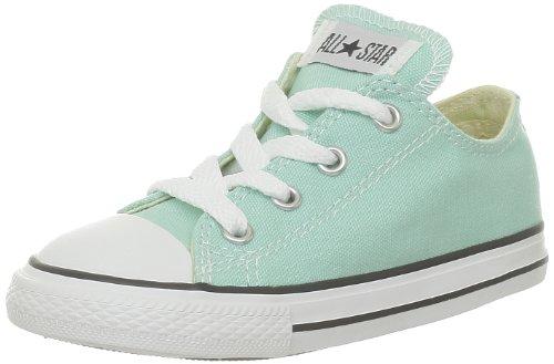 Converse  Ctas Season Ox,  Sneaker unisex bambino Verde (Vert (Vert D'Eau))