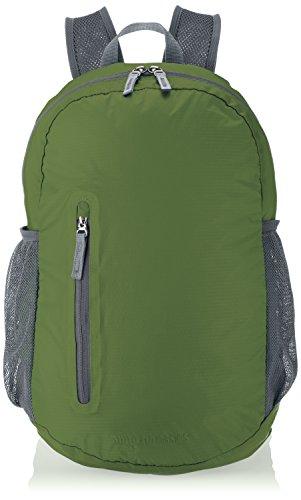 AmazonBasics - Zaino ultra leggero pieghevole Verde