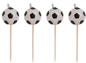 Creative Party Football Pick Candles