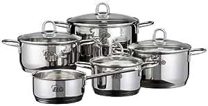 Elo Set de cuisson 5 pièces en acier inoxydable 18/10 Rubis