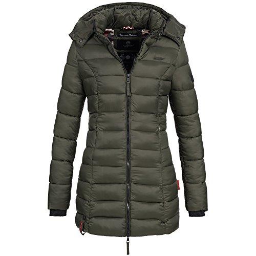 5fd812e5901f Marikoo ABENDSTERNCHEN Damen Mantel Jacke Steppjacke Winterjacke gesteppt  Übergang XS-XXL, Größe .