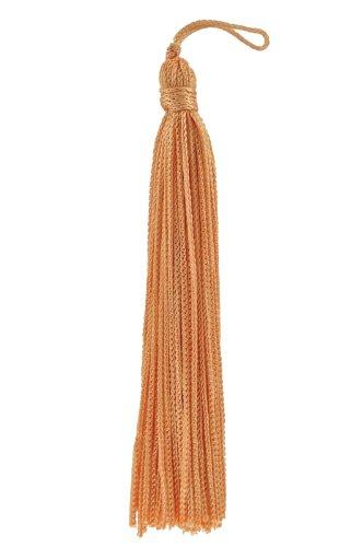 Set von 10Pfirsich Chainette Quaste, 10,2cm lang mit 2,5cm Loop, Basic Rand Collection Stil # RT04Farbe: Lachs-E16 -