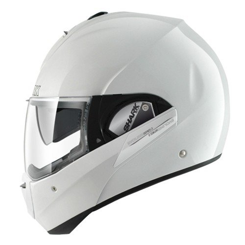 Shark Motorradhelm Evoline Series 3 Fusion, Weiß, Größe L