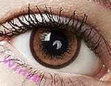 Farbige Kontaktlinsen Jahreslinsen braun