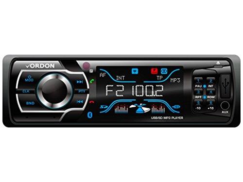 Preisvergleich Produktbild Vordon HT896B Bluetooth DIN Autoradio 4x60W USB MP5 SD mit Farbdisplay