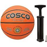 Cosco Hi-Grip Basket Balls, Size 7 (Orange)