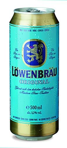 Löwenbräu Original Helles Dosenbier, EINWEG (24 x 0.5 l Dose)