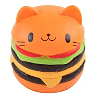 Squishy Toy Slow Rising Cat Burger