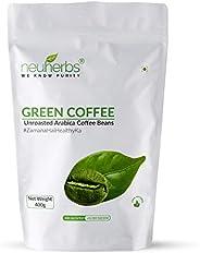 Neuherbs Green Coffee Beans for Weight Loss 400g