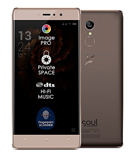 sim-free Smartphone Allview X3Soul stile oro moka (4G Dual SIM, 5.5IPS FullHD, Android 6.0, Sensore di Impronte Digitali, Octa-Core, 3GB di RAM, 32GB di memoria)