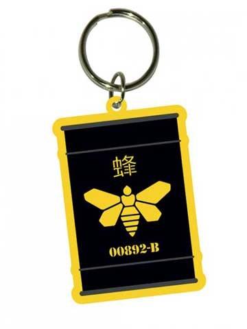 Breaking Bad - Golden Moth - Portachiavi in gomma Portachiavi - dimensioni circa 4,5 x 6 cm