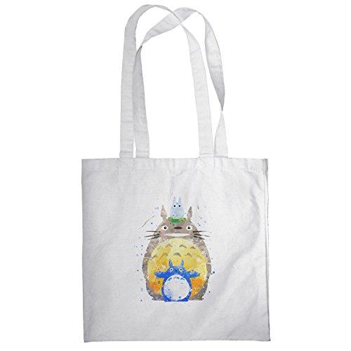 Texlab–Acquerello vicino–sacchetto di stoffa Bianco