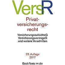 Privatversicherungsrecht (dtv Beck Texte)