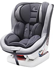 R for Rabbit Jack N Jill Sportz Sporty Look Convertible Baby Car Seat Jack N Jill Grand Innovative ECE R44/04 Safety Certified Car Seat for Kids of 0 to 4 Years Age with 3 Recline Position(Grey)