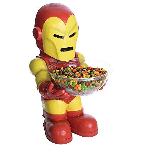 NEU Iron Man Candy-Bowl-Holder, ca. (Ein Echter Kostüm Man Iron)