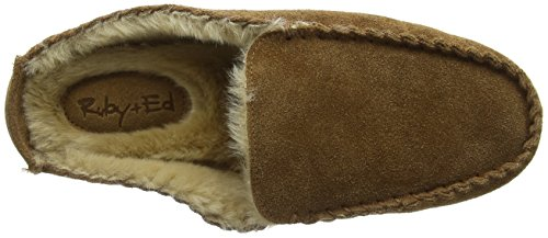 Ruby and Ed Suede Bruno, Chaussons homme Beige - Beige (Chestnut)