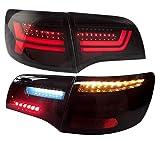 LED Rückleuchten Heckleuchten RA23LBS Laufblinker Lightbar (black/smoke)